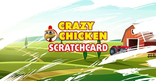 Crazy Chicken Scratchcard