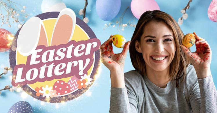 Special Easter Lottery is here with a €15M jackpot!