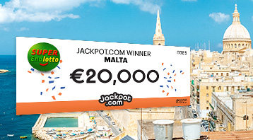 Santa Delivers a SuperEnalotto Jackpot to Malta