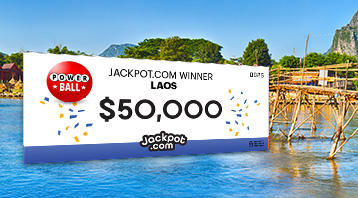 Jackpot.com Travels East To Deliver $50,000 lottery jackpot