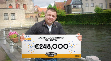 Jackpot.com Customer Scoops a €248,000 EuroMillions