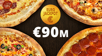 The EuroJackpot has reached its €90 million limit