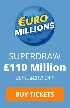 Euromillions Superdraw 24 September 2021