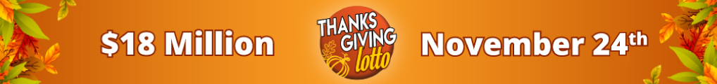 Play the Thanksgiving Lotto